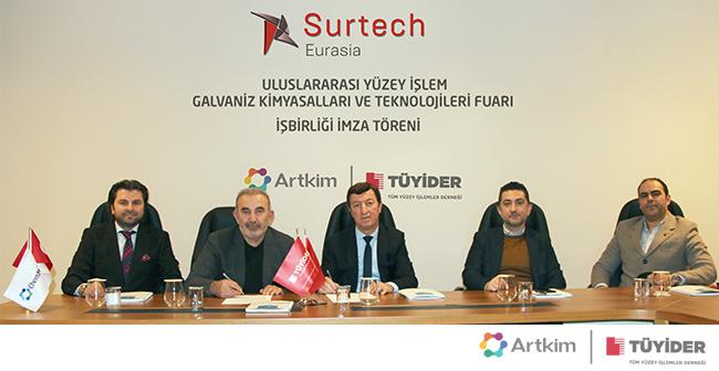 TÜYİDER ve ARTKİM FUARCILIK İş Birliği