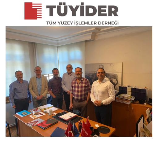 TÜYİDER'DEN TUCSA'YA Ziyaret