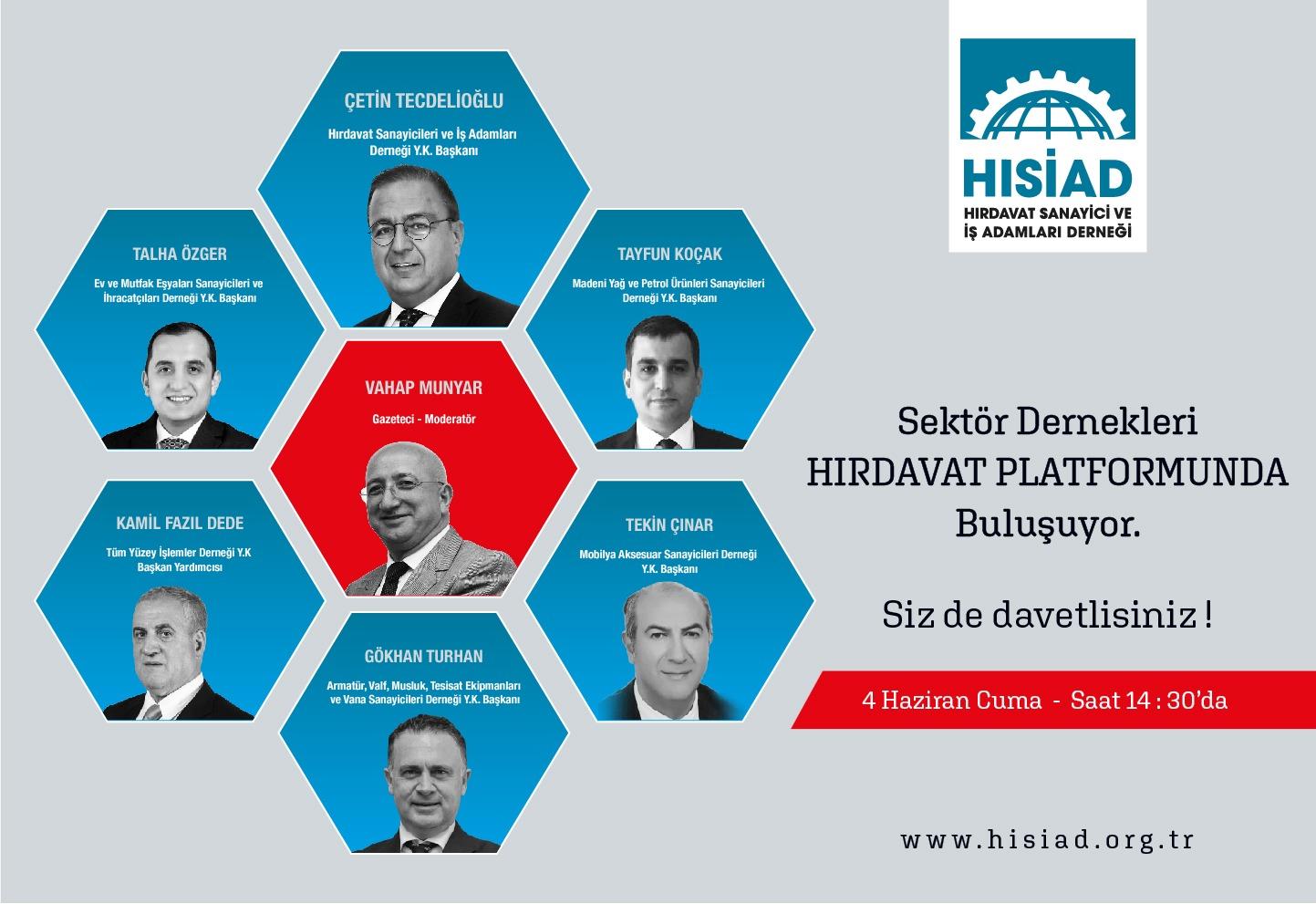 HISİAD Sektör Derneklerini Buluşturuyor